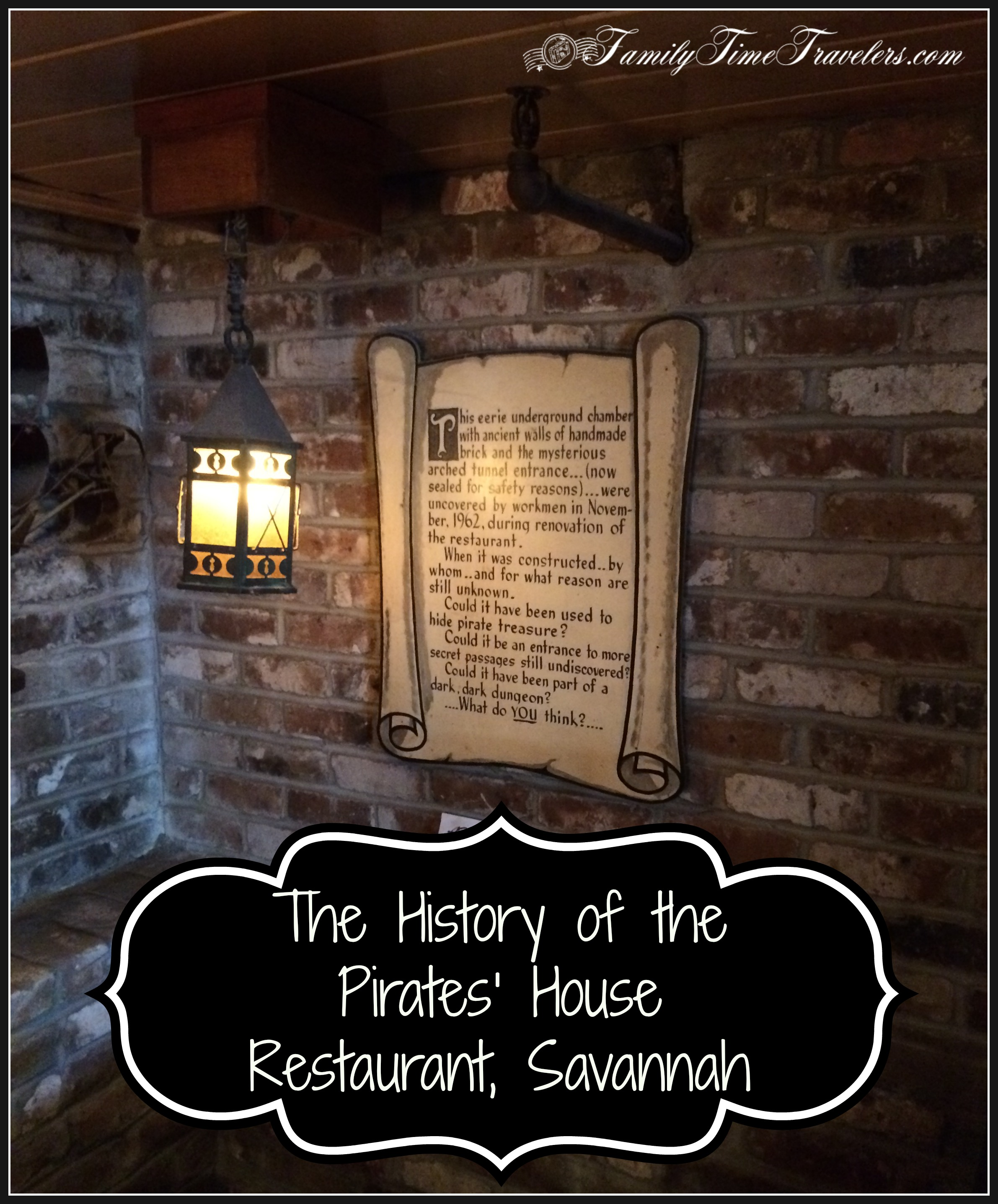 The History of the Pirates' House Restaurant in Savannah, GA - Family Time Travelers