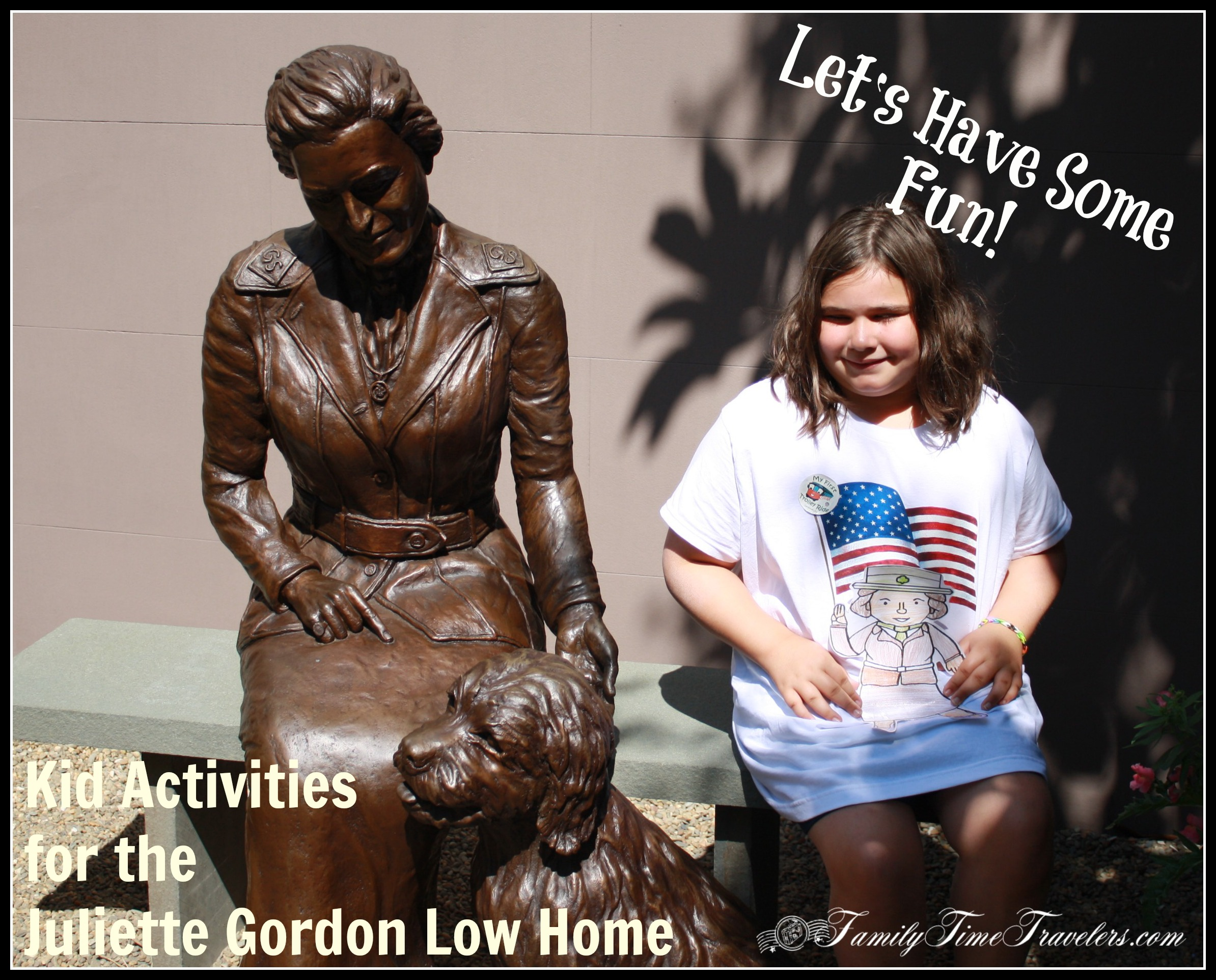 Kid Activities for the Juliette Gordon Low Home - Savannah, Ga | Family Time Travelers